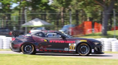 STEVENSON MOTORSPORTS DELIVERS FIRST WIN FOR THE CAMARO GT4