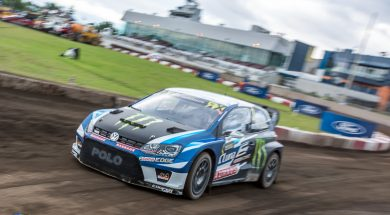 Kristoffersson leads Canada RX overnight