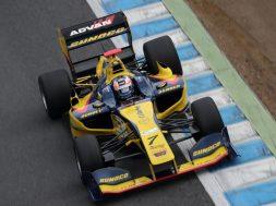 Felix Rosenqvist seals second consecutive Super Formula podium