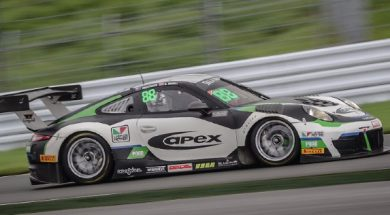 FOSTER AND WISER SEAL BLANCPAIN GT SERIES ASIA FUJI POLES AS CLEARWATER McLAREN SWEEPS GT4