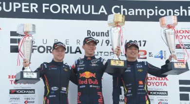 Felix Rosenqvist pulls off extreme strategy to seal third straight Super Formula podium