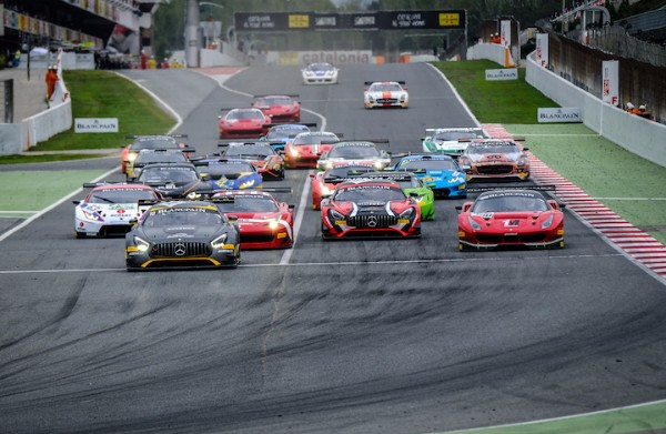 PONS WINS BLANCPAIN GT SPORTS CLUB QUALIFYING RACE IN BARCELONA, AS FRERS CLOSES IRON CUP GAP TO ONE POINT