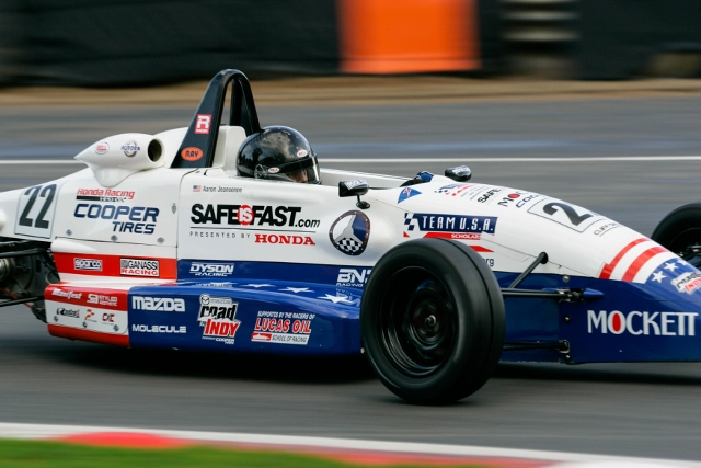 Kotyk and Jeansonne Qualify For Formula Ford Festival Semi