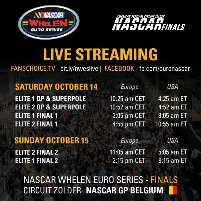 Preview Whelen Euro Series: Zolder