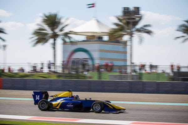 DAMS TAKES GP3 PODIUM IN ABU DHABI