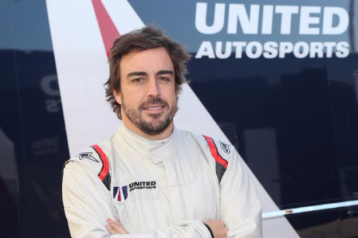 SUCCESSFUL DEBUT TEST FOR FERNANDO ALONSO IN UNITED AUTOSPORTS' LIGIER JS P217