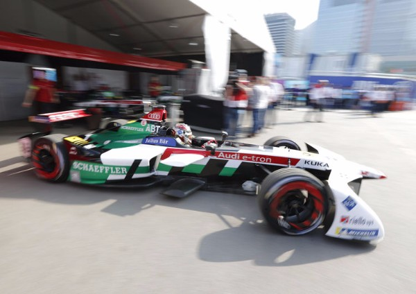 DISAPPOINTMENT FOR AUDI IN FORMULA E OPENER