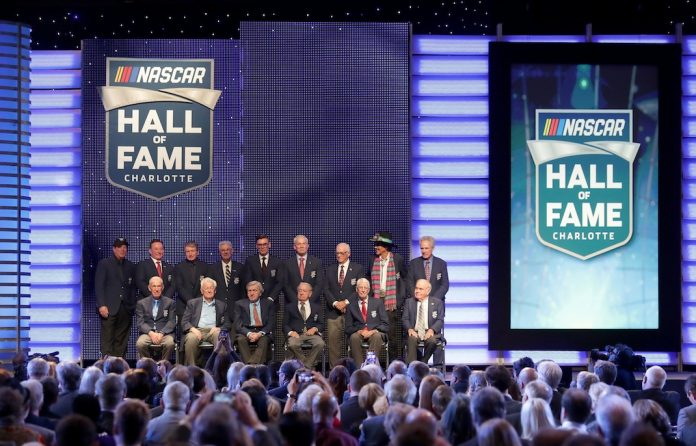 Class Of Five Enters NASCAR Hall Of Fame