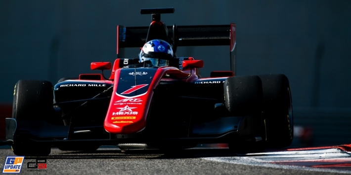 Hughes back in GP3 with dominant ART team