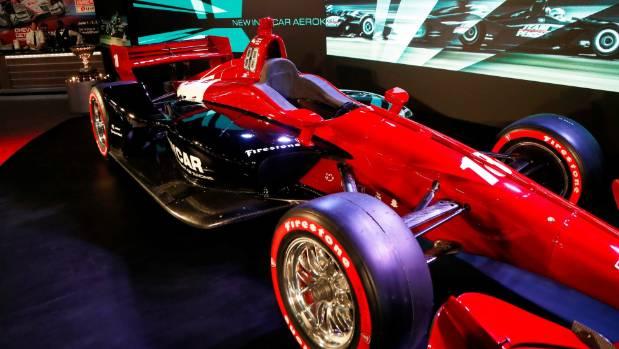 IndyCar unveils 2018 race car at auto show in Detroit