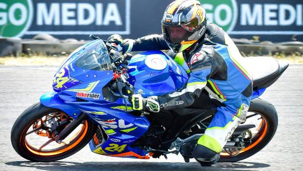 Rising Timaru motorcycling star Harry Parker has a big future
