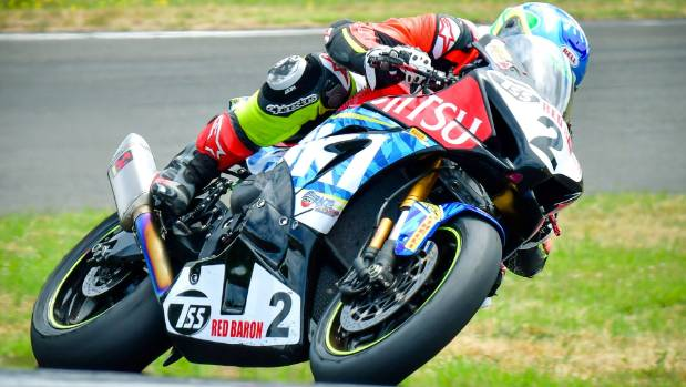 Sloan Frost runs hot in NZ Superbike Championship