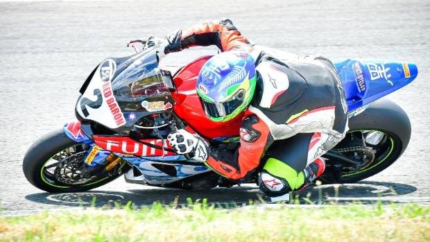 Sloan Frost stars in first round of Superbike series