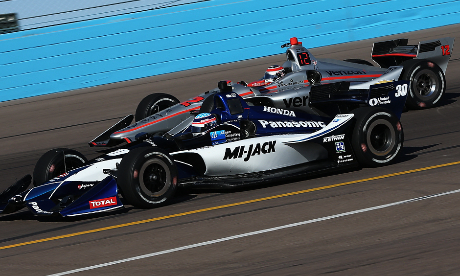 Sato leads afternoon open test session but former champs give close chase