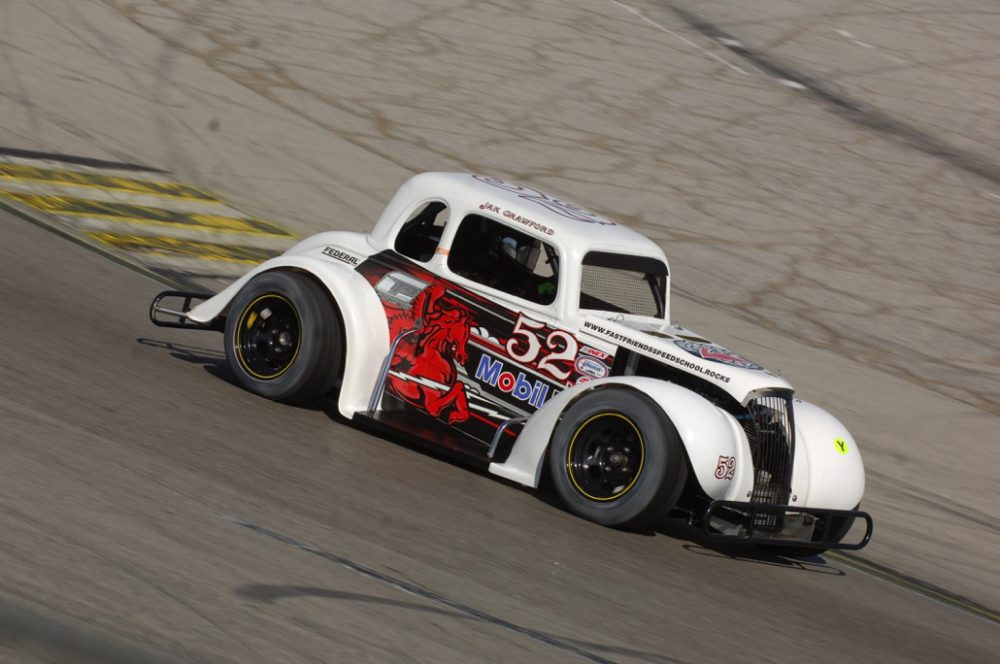 68b9a3864c65bb JAK CRAWFORD WINS WINTER NATIONALS CHAMPIONSHIP IN INEX LEGENDS CAR