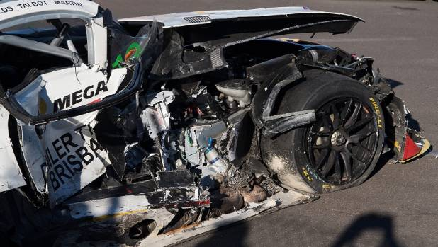 Supercars investigating warning system to prevent cars being struck