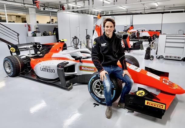 MP Motorsport announce Ralph Boschung for 2018