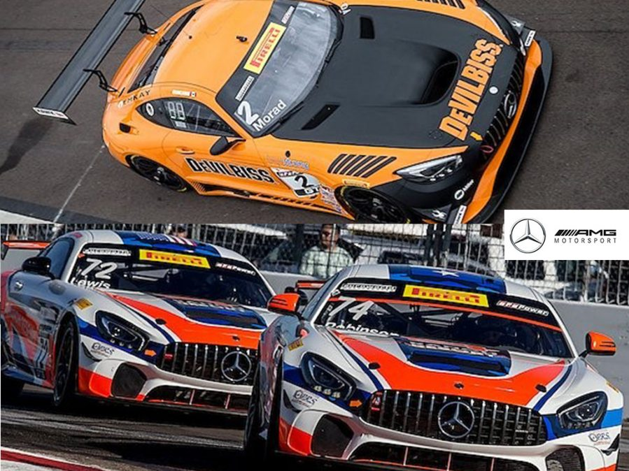 Mercedes-AMG GT3 Earns Pair of GT Class Podiums With CRP Racing at PWC St. Petersburg