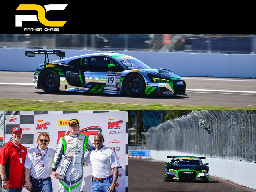 Parker Chase Kicks off 2018 Season with Podium and Hard Charger Award in St. Pete