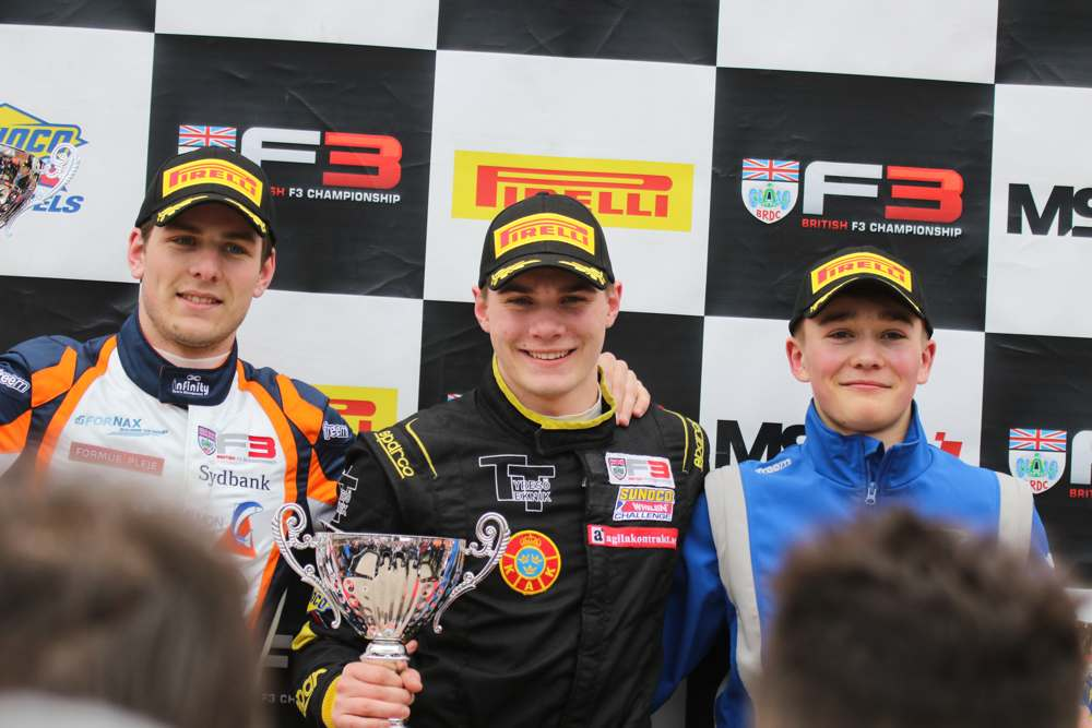 Dream start to rookie season at Oulton Park