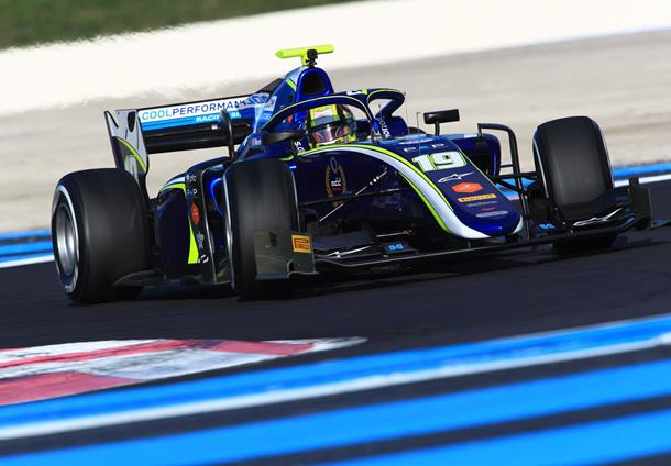 Norris quickest on opening day at Le Castellet