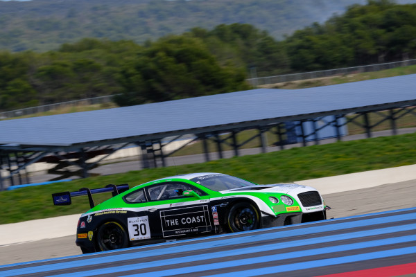 Team Parker send Bentley to the top on opening day of Blancpain GT Series pre-season test