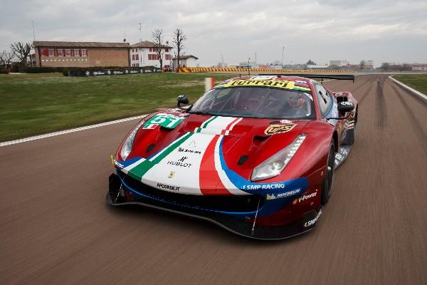 FIORANO DEBUT FOR THE FERRARI 488 GTE 2018