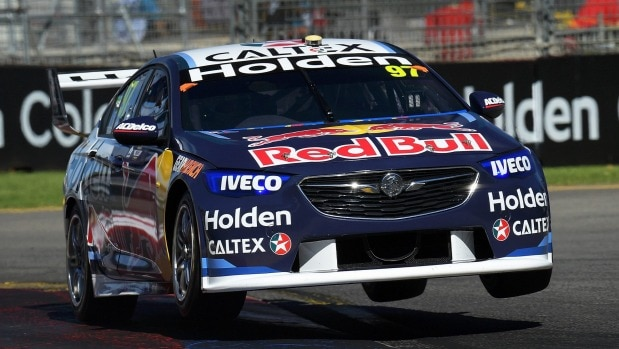 Red-hot Shane Van Gisbergen takes Supercars pole in Adeliade
