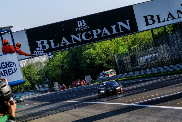 BELGIAN AUDI CLUB TEAM WRT FINALLY CONQUERS MONZA WITH THRILLING FIRST BLANCPAIN GT SERIES VICTORY AT HISTORIC ITALIAN VENUE