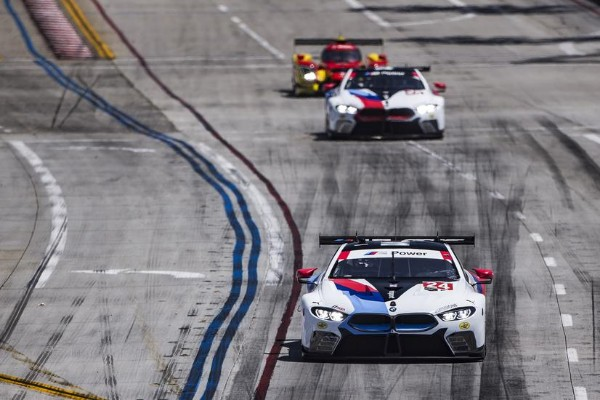 BMW TEAM RLL FINISHES FIFTH AT LONG BEACH