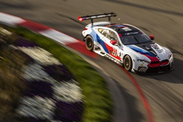 BMW TEAM RLL QUALIFIES SEVENTH AND EIGHTH AT LONG BEACH