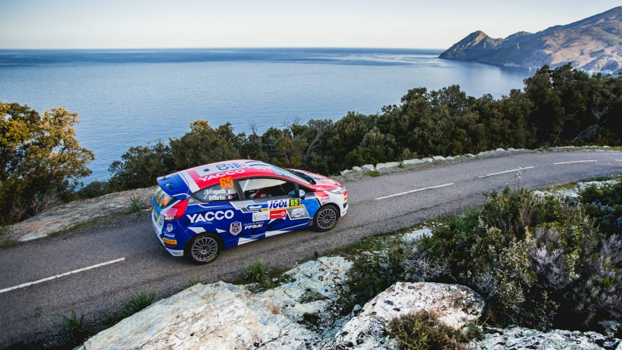 Junior WRC in France:Franceschi's debut win