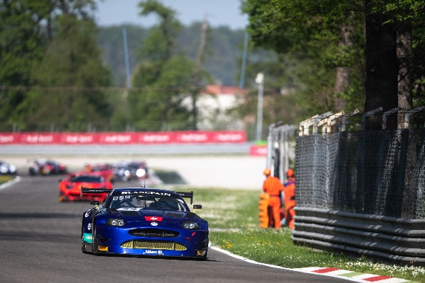 EMIL FREY JAGUAR RACING WITH BLANCPAIN GT SERIES SILVER CUP WIN AT MONZA