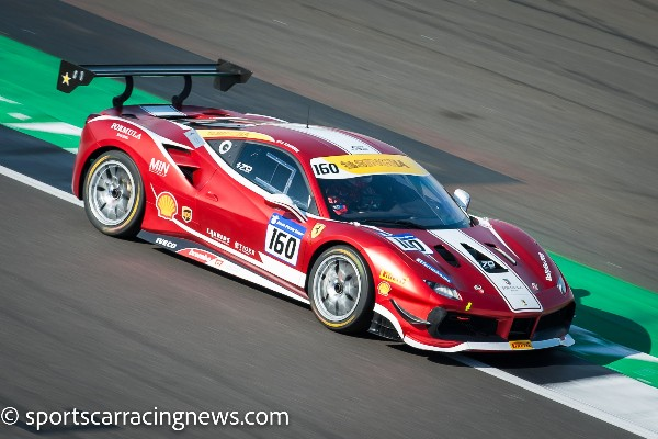 FERRARI CHALLENGE EUROPE – MORE THAN FORTY 488 CHALLENGE CARS AT SILVERSTONE