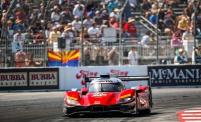 FIGHTING FOURTH AT LONG BEACH FOR MAZDA