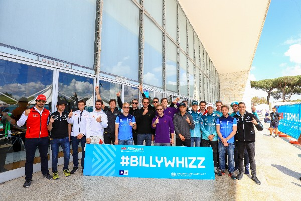 FORMULA E DRIVERS AND BILLY MONGER TO HELP RAISE FUNDS FOR CHARITY WITH ELECTRIC KART RACE IN PARIS
