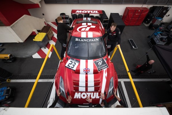 GT SPORT MOTUL TEAM RJN KICK OFF EURO CAMPAIGN FOR NEW NISSAN GT-R