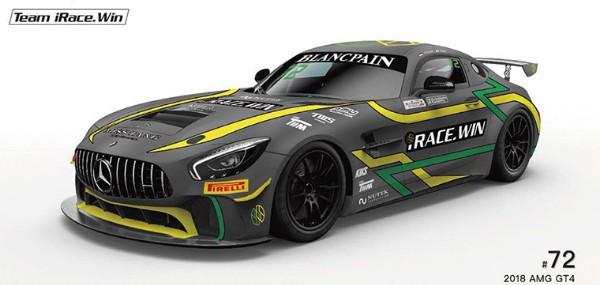 iRACE.WIN ANNOUNCE BLANCPAIN GT SERIES ASIA DEBUT WITH MERCEDES-AMG