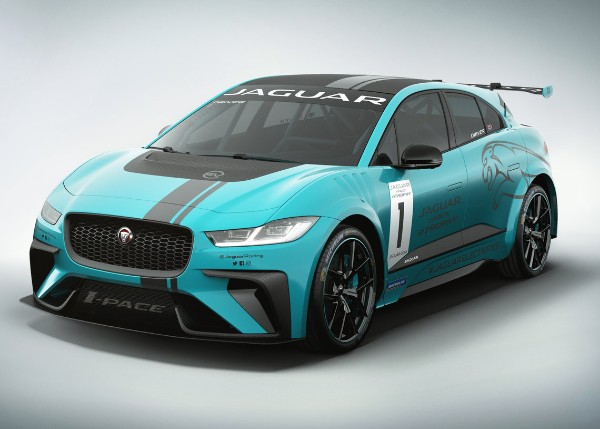 JAGUAR I-PACE ETROPHY RACECAR TO ELECTRIFY BERLIN