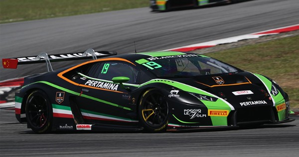 LIND, BURDON, WARD AND VANNELET CLAIM POLES FOR BLANCPAIN GT SERIES ASIA SEPANG SEASON OPENER
