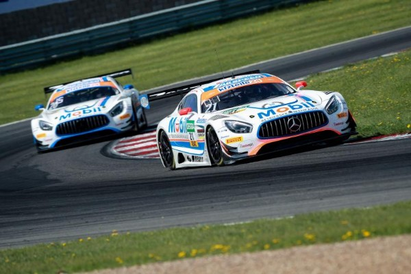 MERCEDES-AMG DOMINATE ADAC GT MASTERS OPENING SESSION AT CZECH PREMIERE
