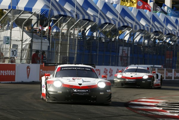 PORSCHE 911 RSR STARTS FROM THE FIRST GRID ROW AT LONG BEACH