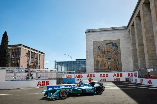 STRONG RECOVERY PERFORMANCE ON THE STREETS OF ROME GOES UNREWARDED FOR MS&AD ANDRETTI FORMULA E TEAM