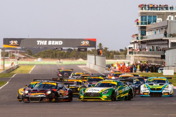 TWIGG/D'ALBERTO TAKE AUSTRALIAN GT VICTORY AT THE BEND
