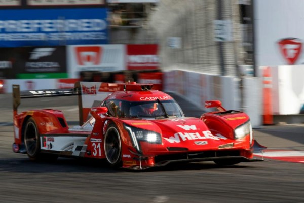 WHELEN ENGINEERING CADILLAC ON FRONT ROW AT LONG BEACH