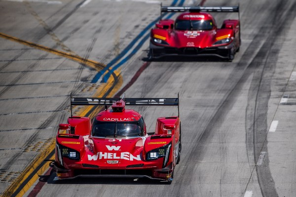 WHELEN ENGINEERING RACING FINISHES SEVENTH AT LONG BEACH