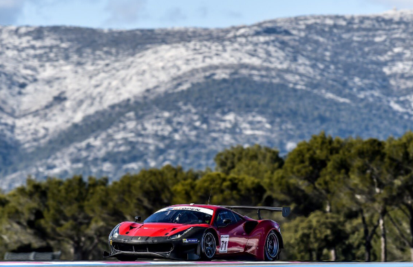 WORLD CHAMPION PIER GUIDI LINES UP IN THE GT OPEN AT ESTORIL