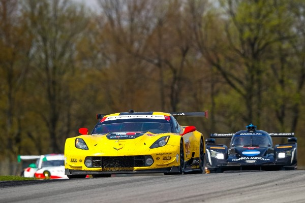 CORVETTE RACING AT MID-OHIO: GARCIA, MAGNUSSEN BACK ON THE PODIUM