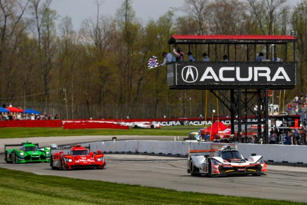 FIRST ACURA DPi WIN IN 1-2 ACURA TEAM PENSKE SWEEP AT MID-OHIO