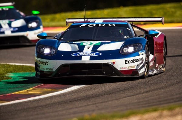 FORD'S FRONT ROW LOCKOUT FOR WEC SEASON OPENER